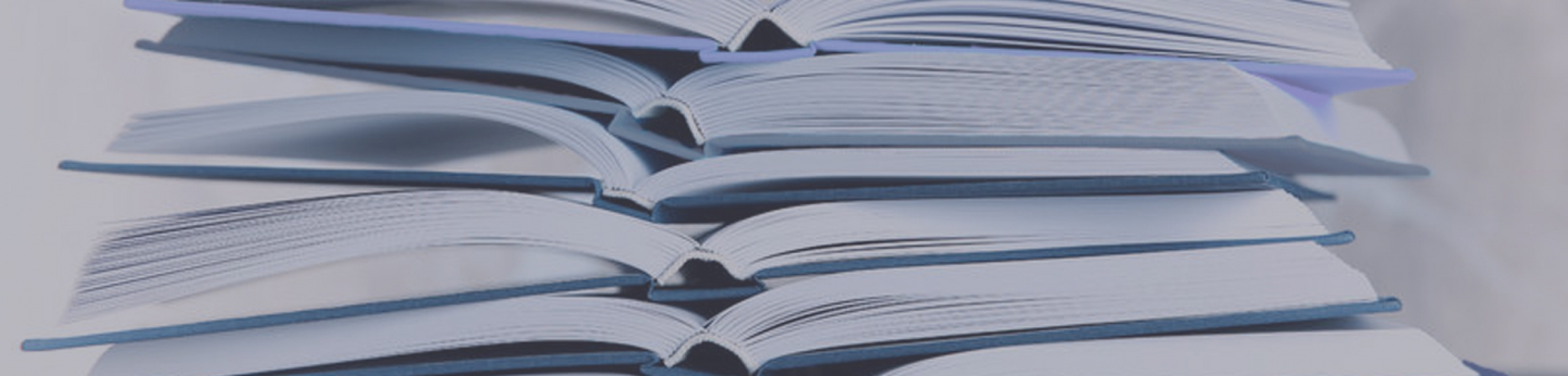 97221713 – stack of open books on light background